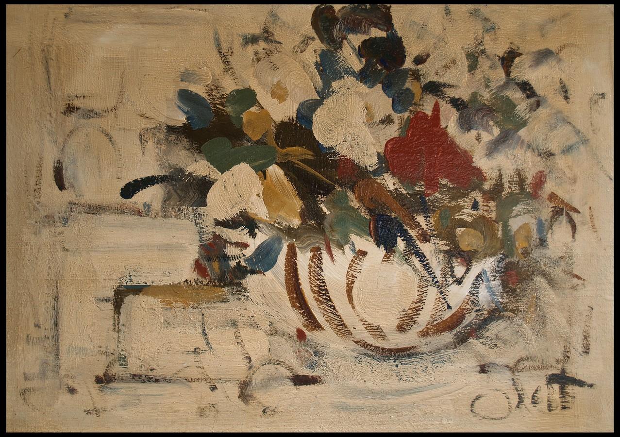 Vaso di fiori danti alvaro natura morta dipinti 1900 for Fiori di ciliegio dipinti